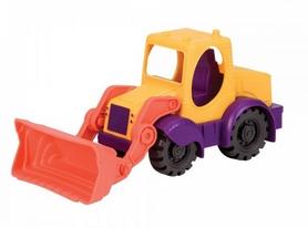 """Машинка игрушечная Battat """"Мини-Экскаватор"""" фиолетовый"""