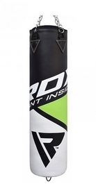 Мешок боксерский RDX Rex Leather Green (кожзам) 150х30 см