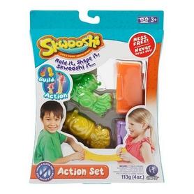 Набор для лепки Irvin Toys Skwooshi 2 формы