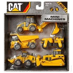 "Машинки Toy State Cat ""Мини-техника"" 5 шт"