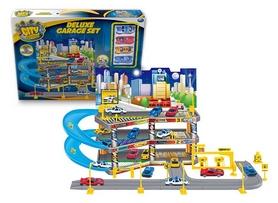 """Набор игровой Dave Toy """"City Parking"""" Парковка с подъемом"""