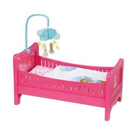 """Кроватка интерактивная Zapf для куклы Baby Born """"Радужные сны"""""""