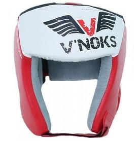 Шлем боксерский V`Noks Lotta Red