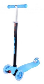 Самокат трехколесный GO Travel maxi синий