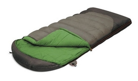 Мешок спальный (спальник) Alexika Summer Plus левый зеленый