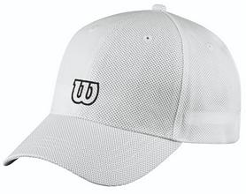 Кепка спортивная (бейсболка) Wilson Tour Cap WH OSFA SS16, белая