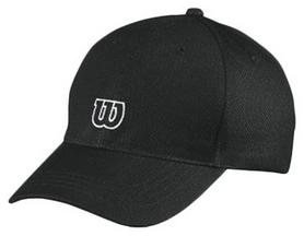 Кепка спортивная (бейсболка) Wilson Tour Cap BK OSFA SS16, черная