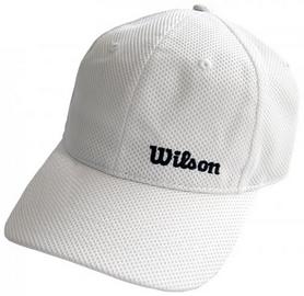 Кепка спортивная (бейсболка) Wilson Summer Cap WH OSFA SS16, белая