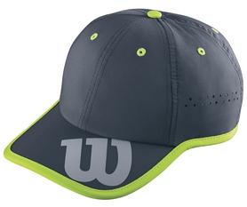 Кепка спортивная (бейсболка) Wilson Baseball Hat Coal SS17, серая