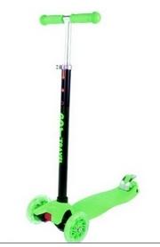 Самокат трехколесный GO Travel maxi зеленый