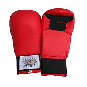 Накладки (битки) для карате PU World Sport