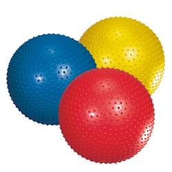 Фото 2 к товару Мяч для фитнеса (фитбол) массажный 65 см Joerex