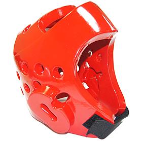 Фото 2 к товару Шлем для тхэквондо WTF красный