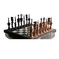 Фигуры шахматные (дерево). Ручная работа