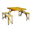 Стол раскладной + 4 стула с креплением C03-1 - фото 1