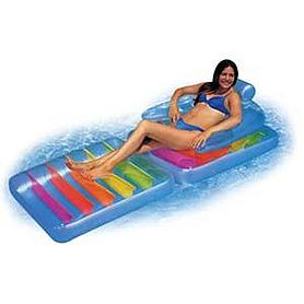 Фото 2 к товару Матрас-кресло надувной пляжный Intex 58870 (203x94 см)