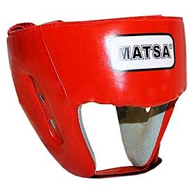 Шлем тренировочный PU Matsa красный