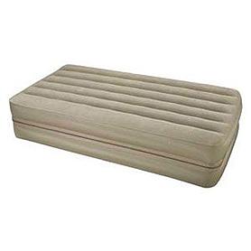 Кровать надувная односпальная Intex 66750 Downy Airbeds (191x99x46 см)