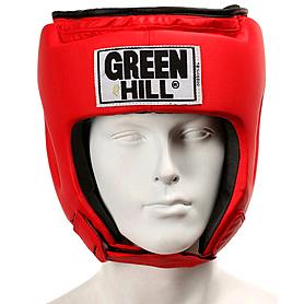 Фото 2 к товару Шлем боксерский Green Hill Special красный
