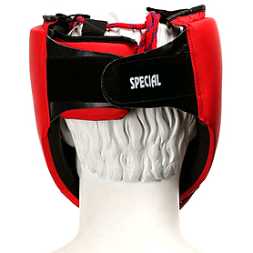 Фото 4 к товару Шлем боксерский Green Hill Special красный