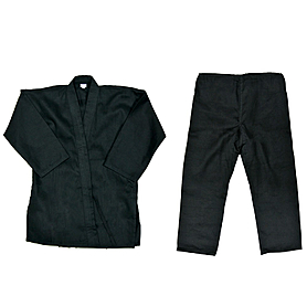 Кимоно для карате Combat Budo черное - 150 см