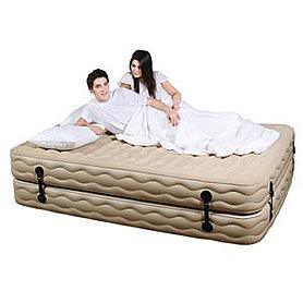 Фото 1 к товару Кровать надувная двуспальная JL027012N (210х157х48 см)
