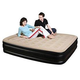 Фото 1 к товару Кровать надувная двуспальная JL027007N (205х163х47 см)