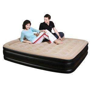 Кровать надувная двуспальная JL027007N (205х163х47 см)