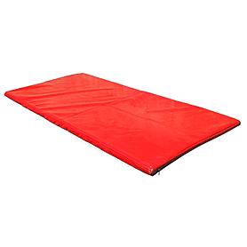 Татами, ковер борцовский 1х2х0,04 м красный
