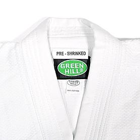 Фото 2 к товару Кимoно для дзюдо Green Hill Club белое