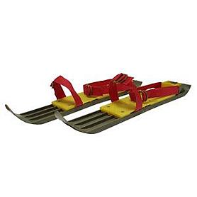 Лыжи мини с  ремнями 42 см
