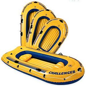 Лодка надувная Challenger 3  Intex 68359