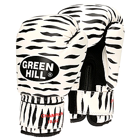 Фото 1 к товару Перчатки боксерские Green Hill Zebra