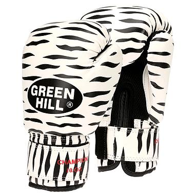 Перчатки боксерские Green Hill Zebra