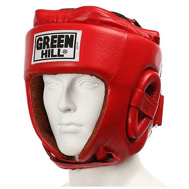 Шлем боксерский Green Hill Five Star (красный)