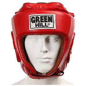 Фото 2 к товару Шлем боксерский Green Hill Five Star (красный)