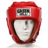Шлем боксерский Green Hill Five Star (красный) - фото 2