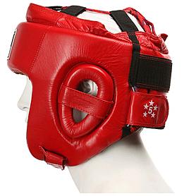 Фото 3 к товару Шлем боксерский Green Hill Five Star (красный)