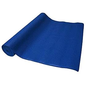 Коврик для йоги (йога-мат) синий 4 мм
