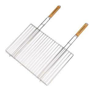 Решетка для гриля двойная 48 x 27,5 см с двумя ручками Campingaz