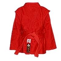 Куртка для самбо Firuz красная
