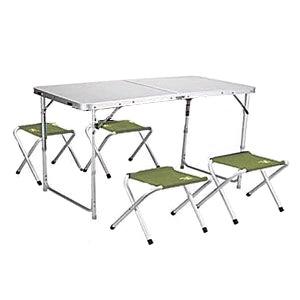 Стол раскладной + 4 стула TA-407+FS-124