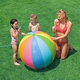 Мяч надувной Джамбо с душем 58072 Intex