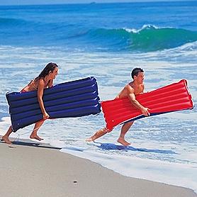 Фото 1 к товару Матрас надувной пляжный Intex 59196 (152x74 см)