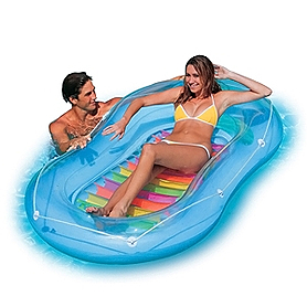 Матрас надувной пляжный Intex 58875 (208х122 см)