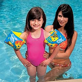 Фото 1 к товару Нарукавники для плавания Intex (23x15 см)