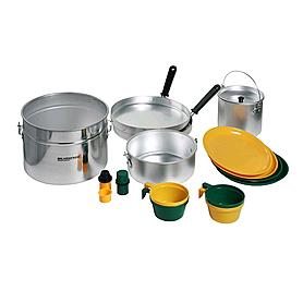 Набор посуды походный на 4 персоны Кемпинг