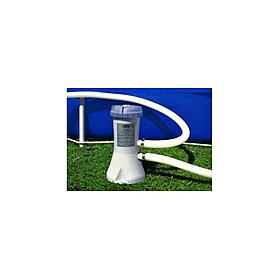 Фото 2 к товару Бассейн надувной Intex 56417 (549x107 см) с фильтрующим насосом и аксессуарами