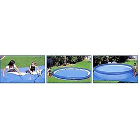 Фото 3 к товару Бассейн надувной Intex 56417 (549x107 см) с фильтрующим насосом и аксессуарами