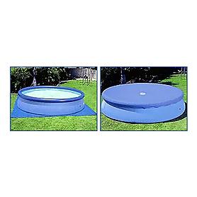 Фото 4 к товару Бассейн надувной Intex 56417 (549x107 см) с фильтрующим насосом и аксессуарами